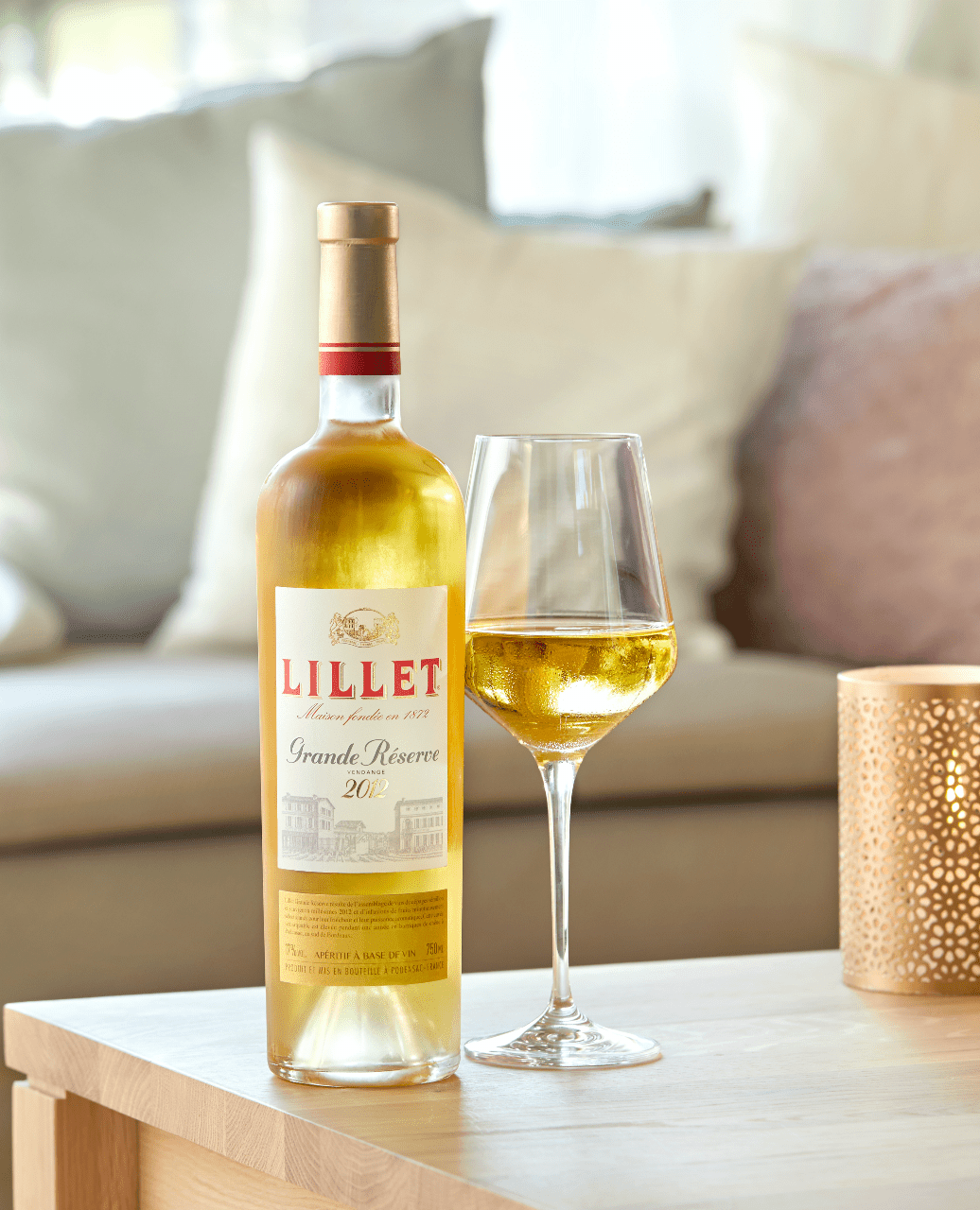 Vin apéritif Lillet blanc grande réserve - idée cocktail recette apero