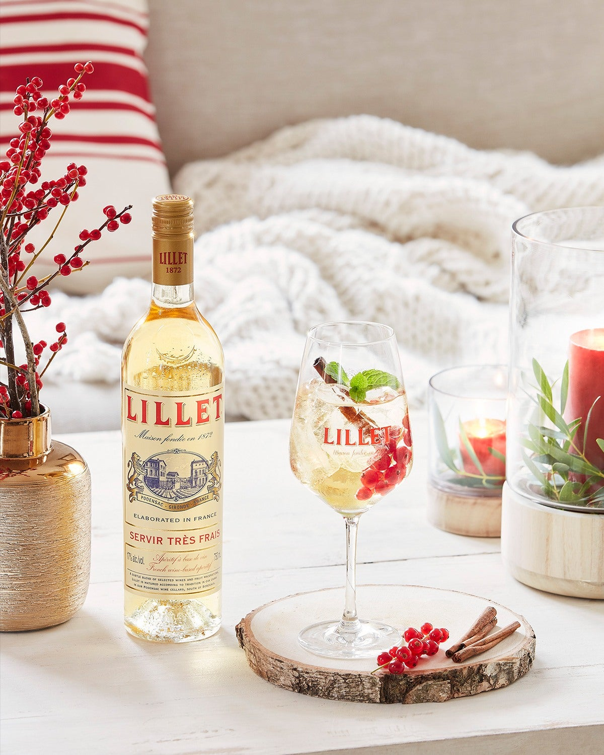 cocktail lillet winter vive