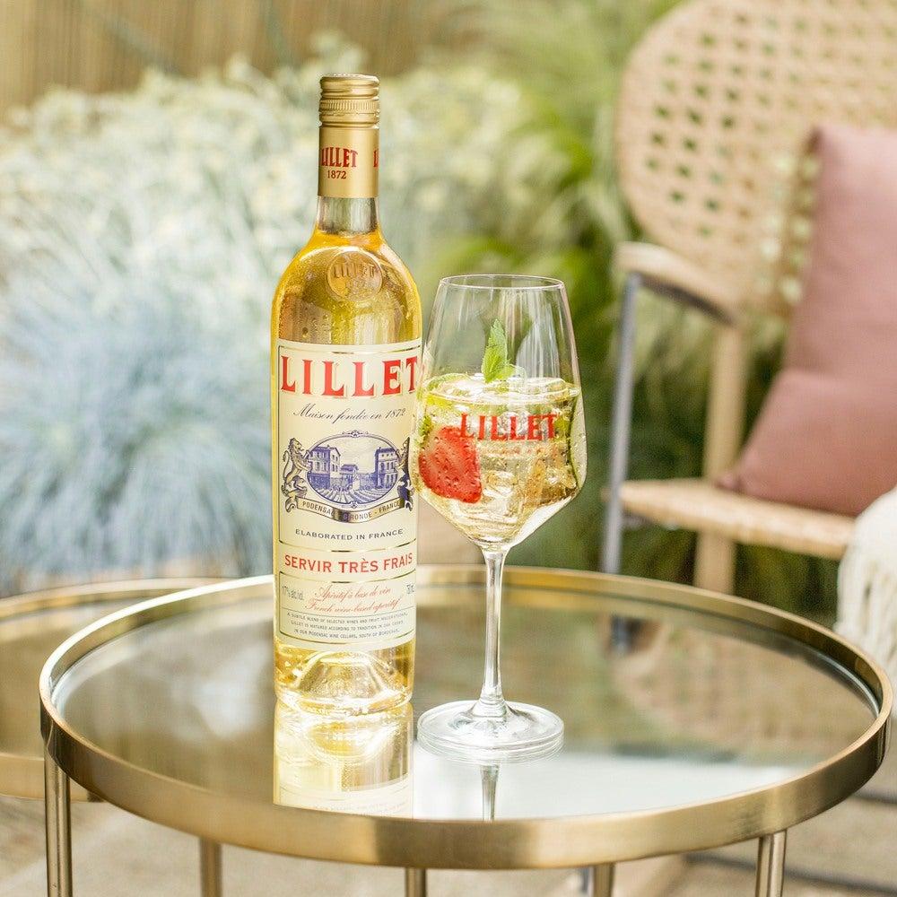 Cocktail et bouteille Lillet Blanc Vive