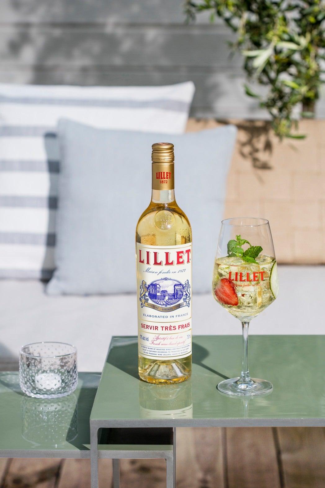 Vin apéritif Lillet blanc - idée cocktail recette apero